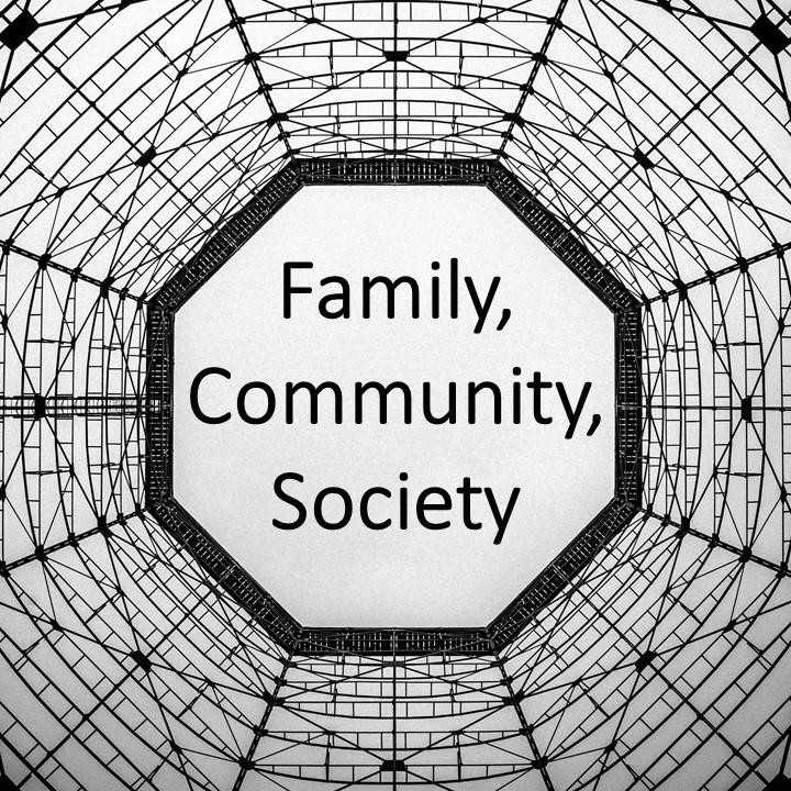 panel 3 - family community society